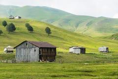 Het landschap van het dorp Stock Fotografie