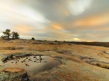 Het Landschap van het graniet stock afbeeldingen