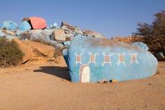Het landschap van het graniet Stock Foto