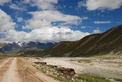 Het landschap van het hoogland Stock Fotografie