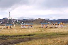 Het landschap van het hoogland stock afbeelding