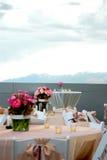 Het landschap van het huwelijk Stock Fotografie