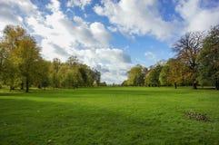 Het landschap van het Hydepark Stock Foto