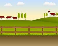 Het Landschap van het land [1] Royalty-vrije Stock Afbeeldingen