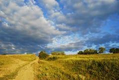 Het landschap van het land Stock Foto's
