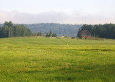 Het landschap van het landbouwbedrijf royalty-vrije stock fotografie