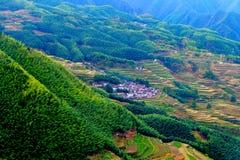 Het landschap van het Lishuiterras Royalty-vrije Stock Afbeelding