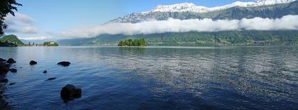 Het landschap van het meer Stock Afbeeldingen