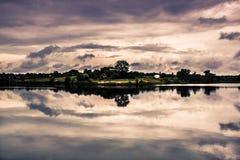 Het landschap van het meer Royalty-vrije Stock Foto