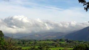 Het landschap van het meerdistrict Stock Fotografie