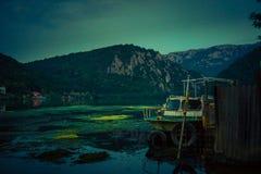 Het landschap van het Mraconiagolf, Roemenië Stock Afbeeldingen
