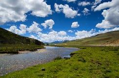 Het landschap van het plateau Stock Afbeeldingen