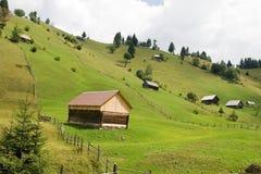 Het landschap van het platteland Stock Afbeeldingen