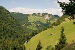 Het landschap van het platteland Royalty-vrije Stock Afbeeldingen