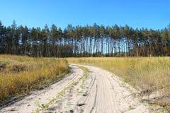 Het landschap van het platteland Stock Afbeelding