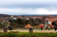 Het landschap van het Quedlinburgdak Royalty-vrije Stock Foto