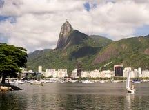 Het landschap van het Rio de Janeiro Stock Afbeelding