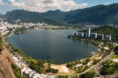 Het landschap van het Rio de Janeiro royalty-vrije stock afbeeldingen