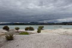 Het landschap van het Rotoruameer Royalty-vrije Stock Afbeelding