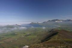 Het landschap van het schiereiland royalty-vrije stock foto