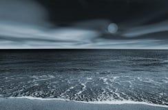 Het landschap van het strand royalty-vrije stock afbeeldingen