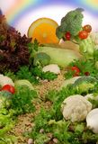 Het landschap van het voedsel Stock Foto's