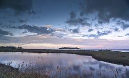 Het landschap van het water Royalty-vrije Stock Foto's