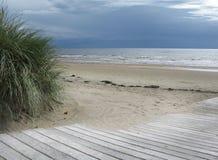Het Landschap van het zandduin royalty-vrije stock afbeelding