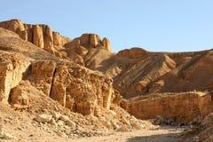 Het landschap van het zandsteen in de vallei van de koning Stock Foto's