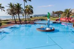 Het Landschap van het Zwembadstrand Royalty-vrije Stock Afbeeldingen