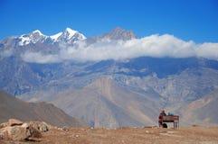 Het landschap van Himalay stock fotografie