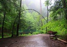 Het landschap van Hockingsheuvels stock fotografie