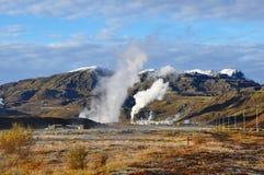 Het landschap van IJsland. Royalty-vrije Stock Fotografie
