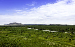 Het landschap van IJsland Royalty-vrije Stock Afbeeldingen