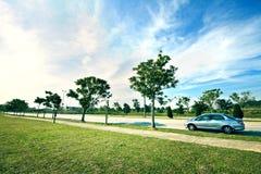 Het landschap van Jaya van Cyber Royalty-vrije Stock Fotografie