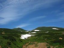 Het landschap van Kamchatka Stock Afbeelding