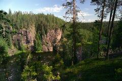 Het landschap van Karhunkieros Stock Foto