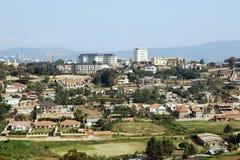 Het landschap van Kigali Stock Foto