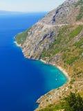 Het landschap van Kroatië Stock Foto
