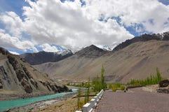Het Landschap van Ladakh royalty-vrije stock afbeeldingen