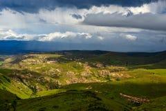 Het Landschap van Lesotho royalty-vrije stock afbeelding