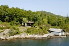 Het landschap van Lysefjord stock fotografie