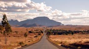 Het landschap van Madagascar Stock Afbeelding