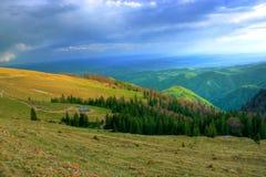 Het landschap van Maountain Stock Foto's
