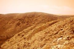 Het landschap van Mars Royalty-vrije Stock Fotografie