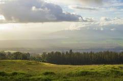 Het landschap van Maui Stock Afbeeldingen