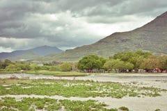 Het landschap van Mauritius Stock Afbeeldingen