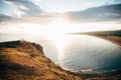 Het landschap van meerbaikal Stock Afbeelding