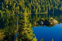 Het landschap van meertahoe - Californië, de V.S. Royalty-vrije Stock Afbeeldingen