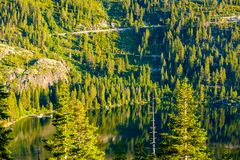 Het landschap van meertahoe - Californië, de V.S. Royalty-vrije Stock Foto
